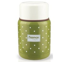 Термос для еды Fissman оливковый 350мл VA-9667.350